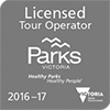 Licensed Tour Operator Parks Victoria logo