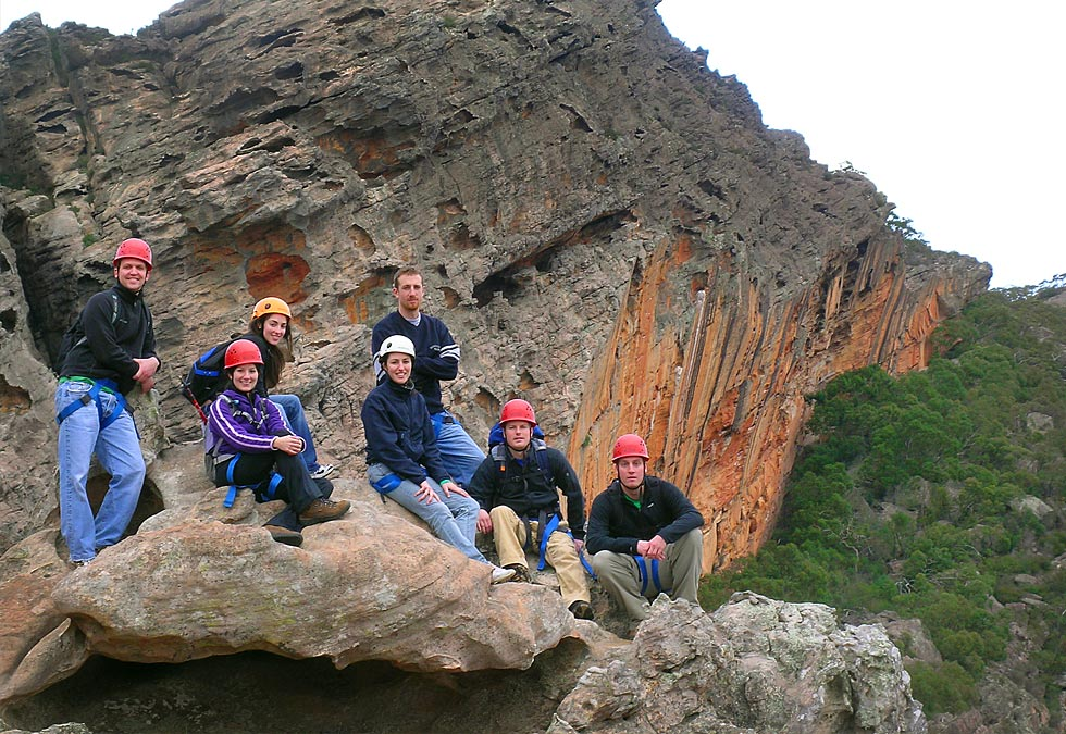 Rock Climbing Grampians Corporate Groups