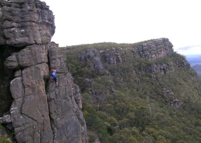 Grampians abseiling