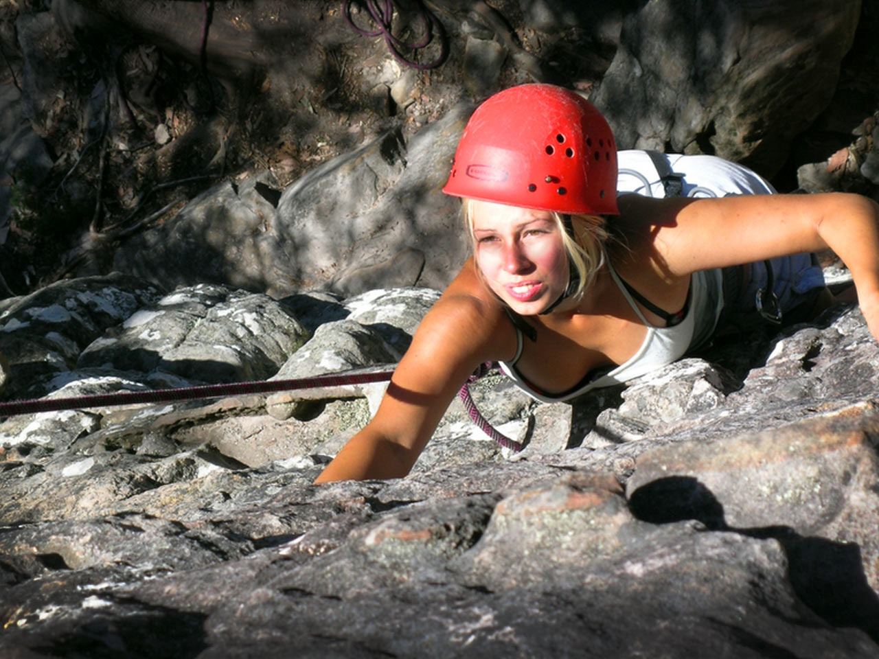Abseiling, Grampians